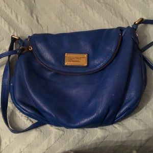 Blue Marc by Marc Jacobs Leather Cross Body Bag